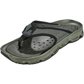 Salomon RX Break 4.0 Recovery Slides Heren, castor gray/black/beluga